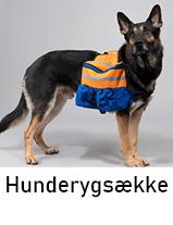 Hunderygsække til hund