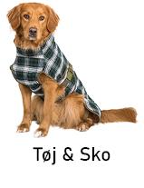 Hundetøj og hundesko til hund